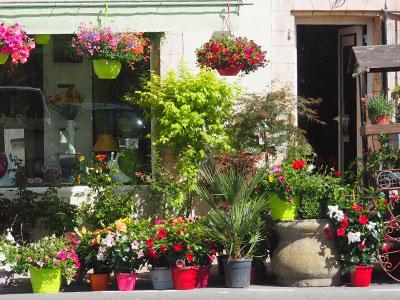 extérieur de la boutique Jardin de Florette
