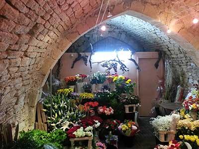 voûte intérieure Jardin de Florette